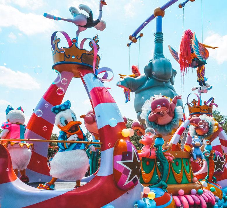 Florida Rundreise: Freizeitparks und Attraktionen in Orlando
