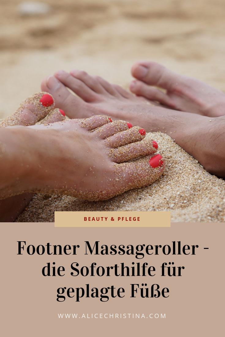 Footner Massageroller: praktischer Helfer für schmerzende Füße