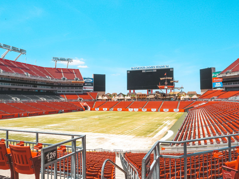 Sehenswürdigkeiten in Tampa: Raymond James Football Stadium