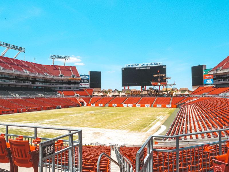 Sehenswürdigkeiten in Tampa: Raymond James Football Stadium