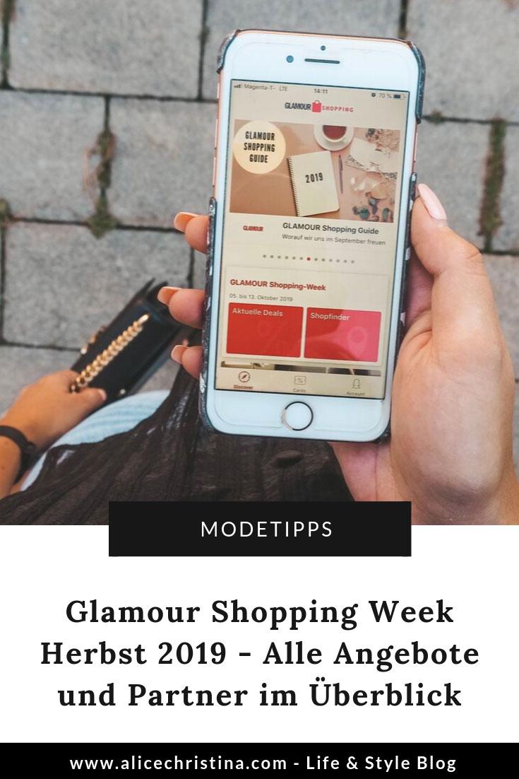 Glamour Shopping Week Herbst 2019 Angebote und Partner