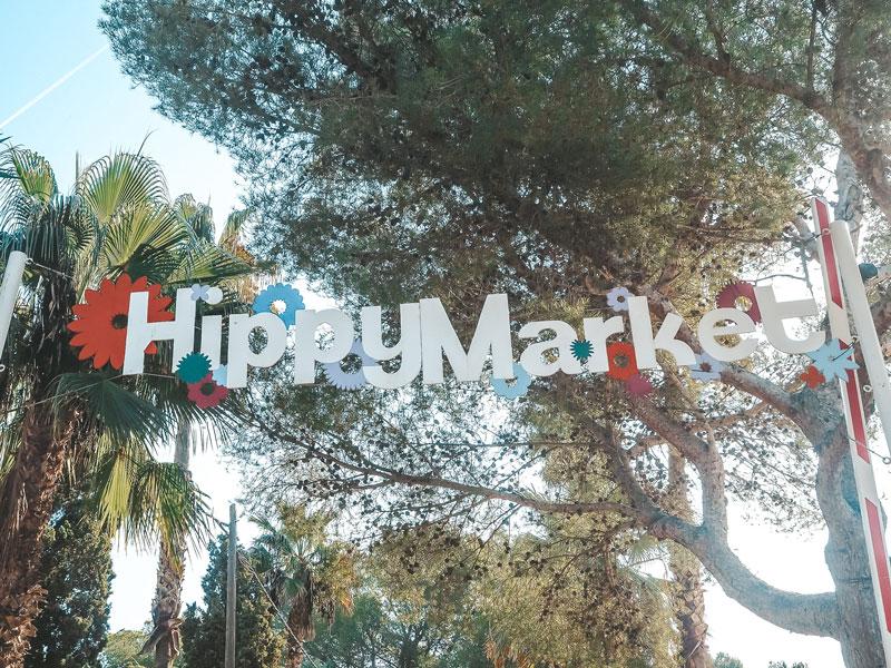 Ibiza im Oktober: So schön ist Ibiza in der Nebensaison - Hippie Markt auf Punta Arabi