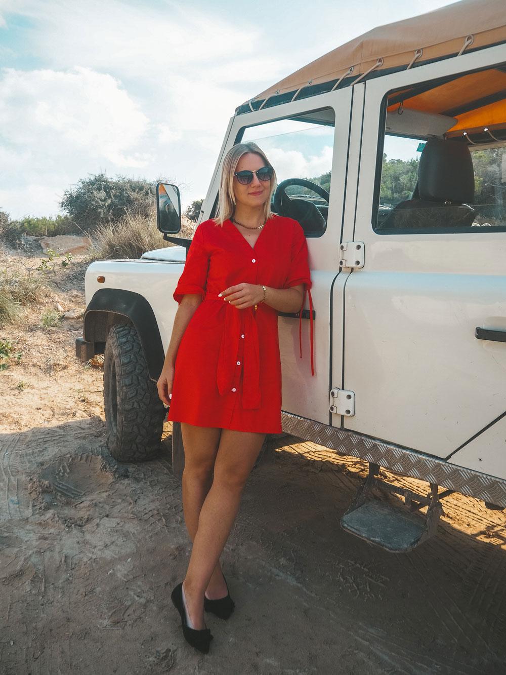 Ibiza im Oktober: So schön ist Ibiza in der Nebensaison - Jeep-Tour auf Ibiza