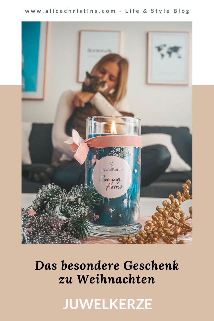 Juwelkerze: Das besondere Geschenk zu Weihnachten