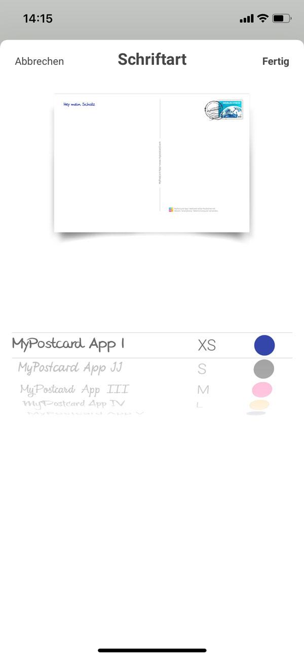 Erinnerungen aus dem Urlaub verschenken mit My Postcard App - die Postkarten App