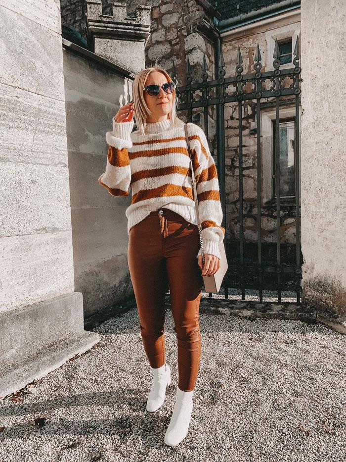 Cognac kombinieren: So stylt ihr diese Trendfarbe