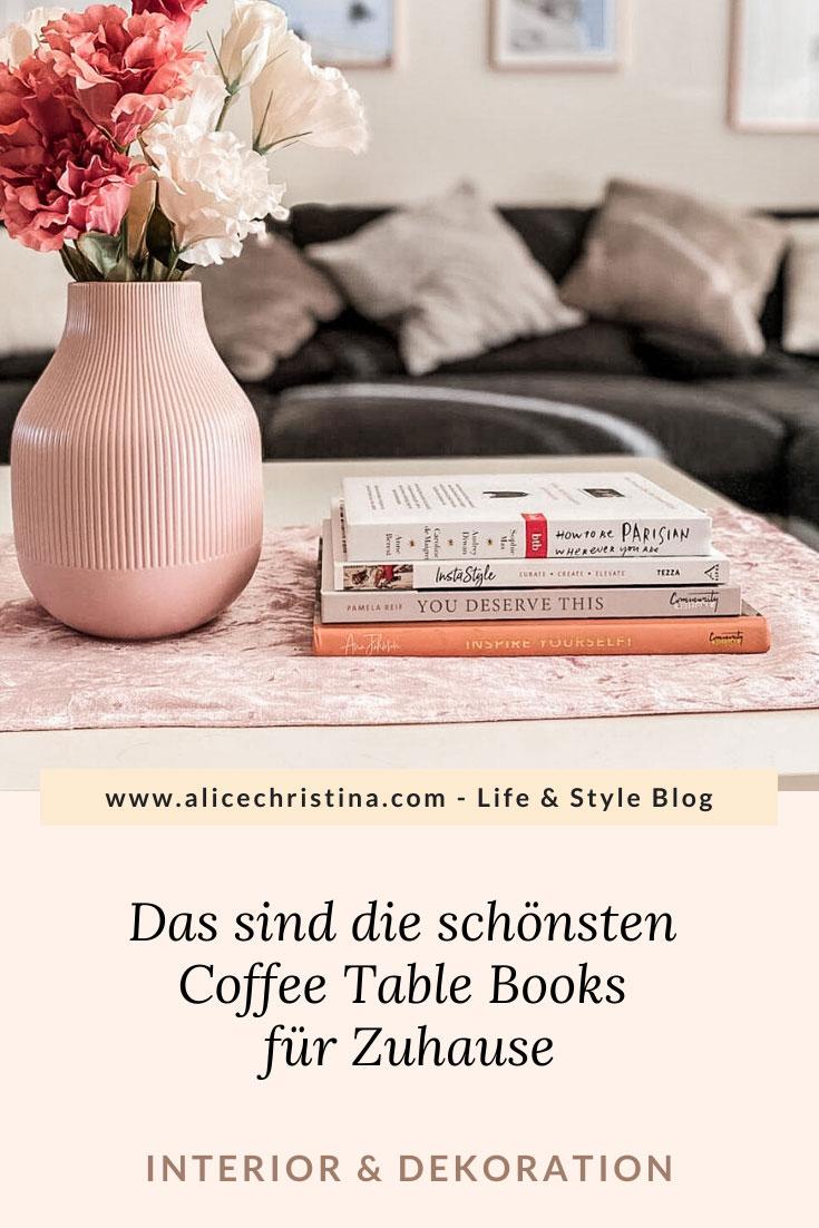 Coffee Table Books: Die schönsten Bücher zum Dekorieren