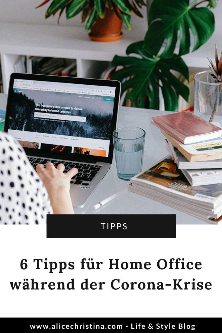 6 Tipps für Home Office während Corona