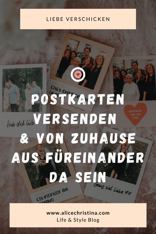 Postkarten versenden mit der MyPostcardApp