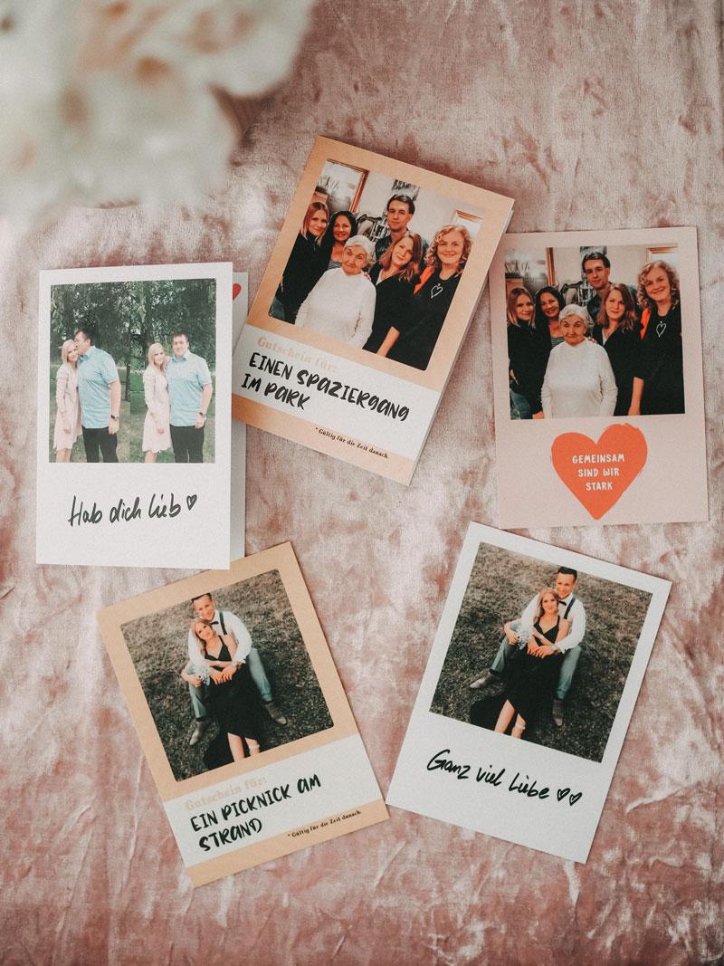 Postkarten versenden und von Zuhause aus füreinander da sein