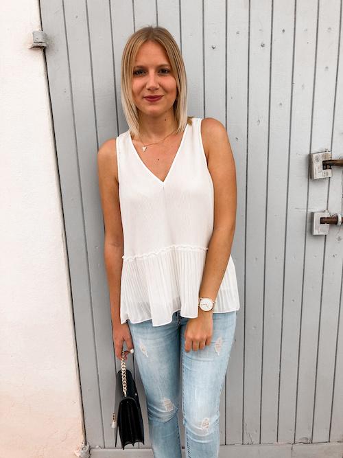 Die schönsten weißen Blusen für den Sommer