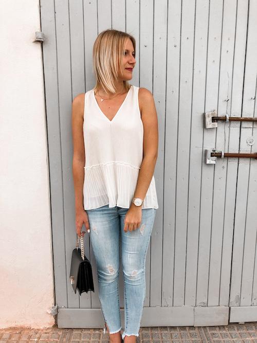 Weiße Blusen im Sommer kombinieren: Outfit-Ideen und Shopping-Inspirationen