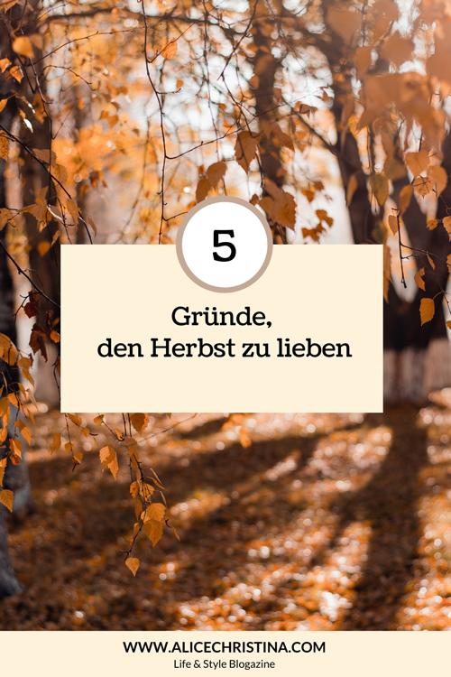 5 Gründe, den Herbst zu lieben